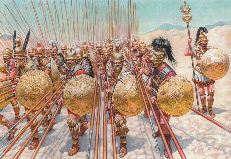 Лучшую армию Эллады разбили с помощью «косой атаки»!