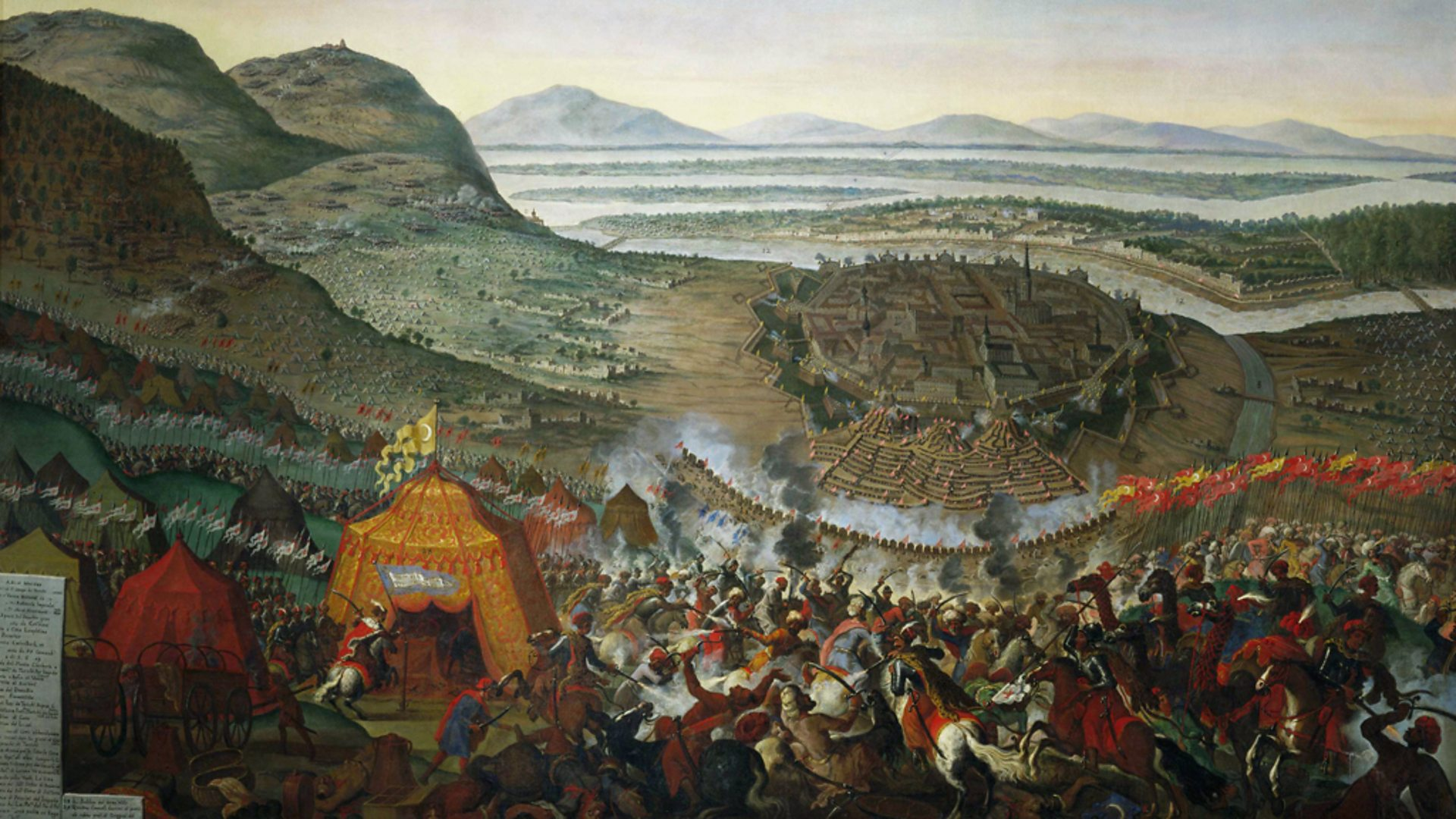 Захватив Вену, турки поделили Европу с французским королем