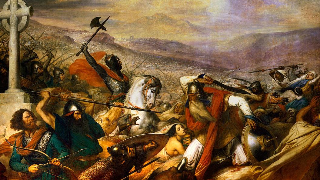 Битва при Пуатье. Евразия могла превратится в огромный халифат