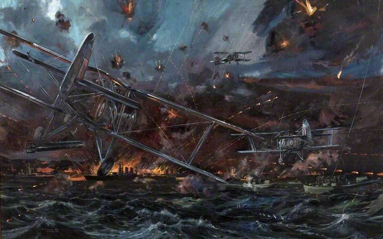 Налет на Таранто вдохновил японцев атаковать Пёрл-Харбор!