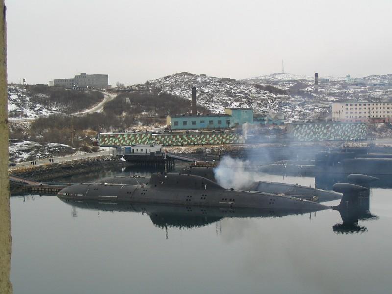 Гаджиево - главная база атомных подводных лодок