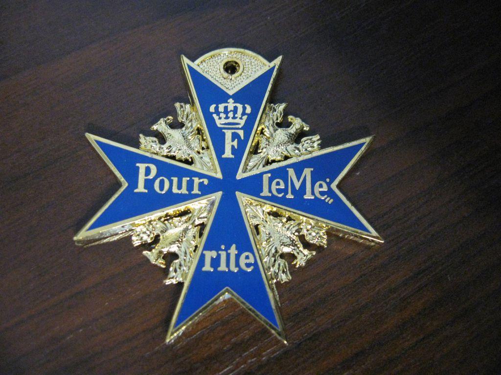 «Голубой Макс». Этим орденом были награждены русский царь и рейхсмаршал Геринг