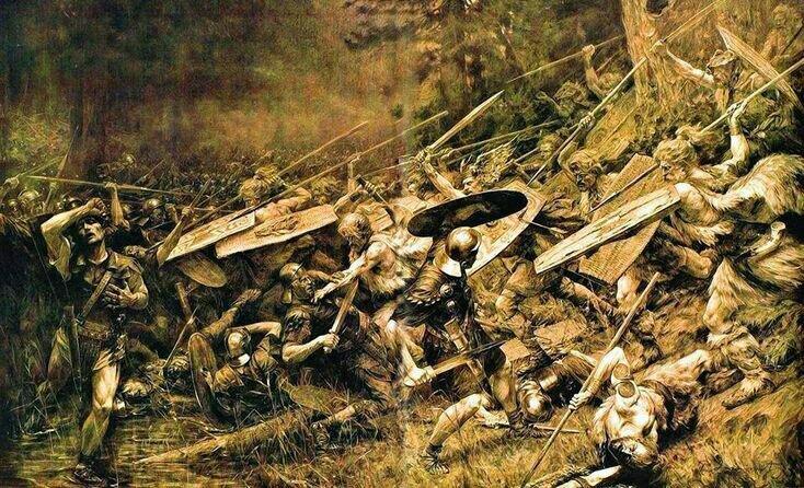 Погибшие легионы Квинтиллия Вара