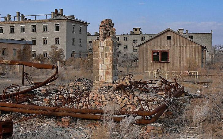 Аральск-7 - город, умерший вместе с морем