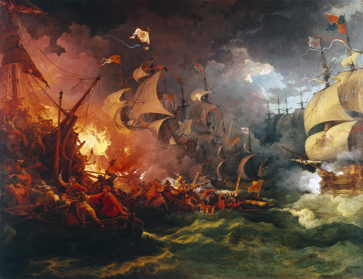 Бесславный крах испанской армады