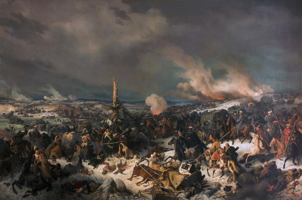 Кровавая Березина - печальный финал наполеоновского нашествия