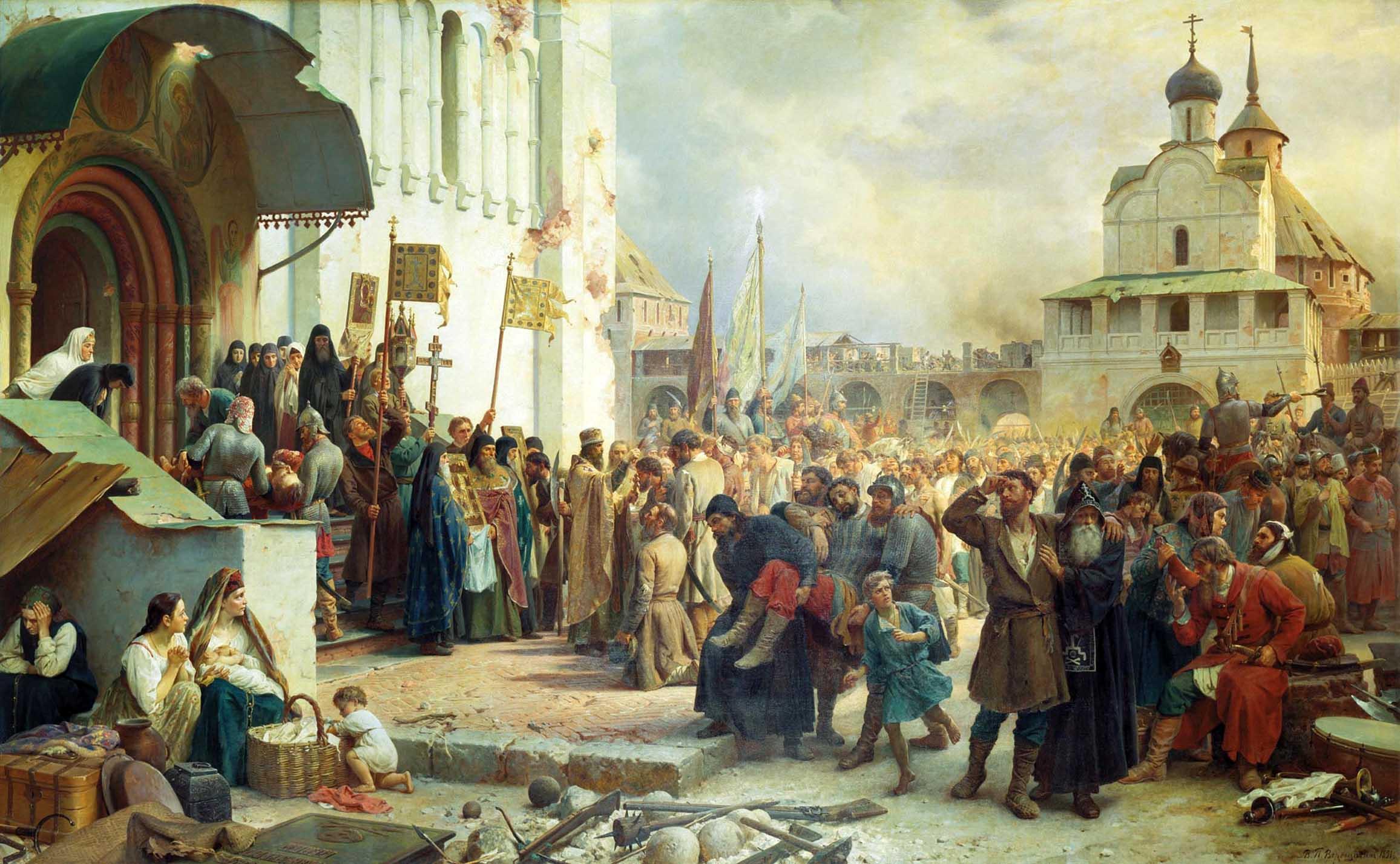 Смутное время - единство народа спасло Россию