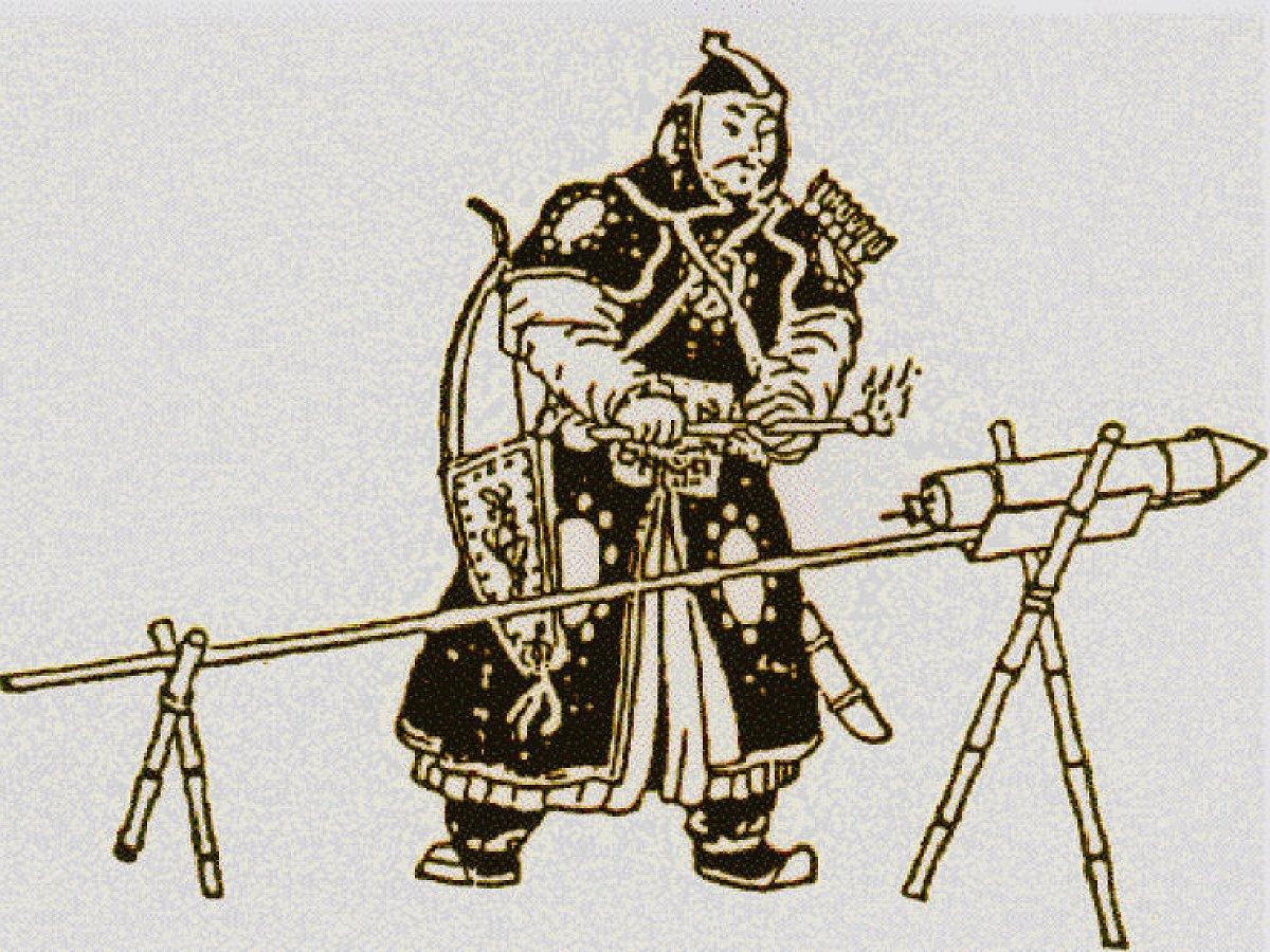 Огненное копье: волшебная палка из Китая