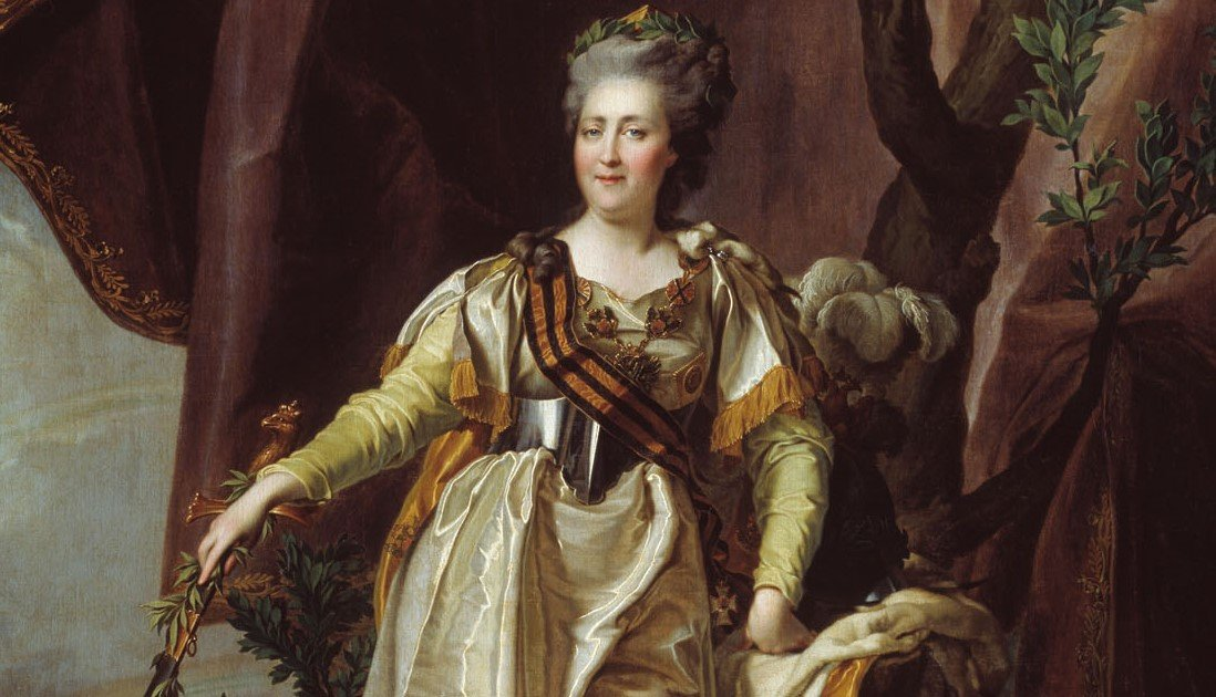 Екатерина II - немецкая принцесса на императорском троне
