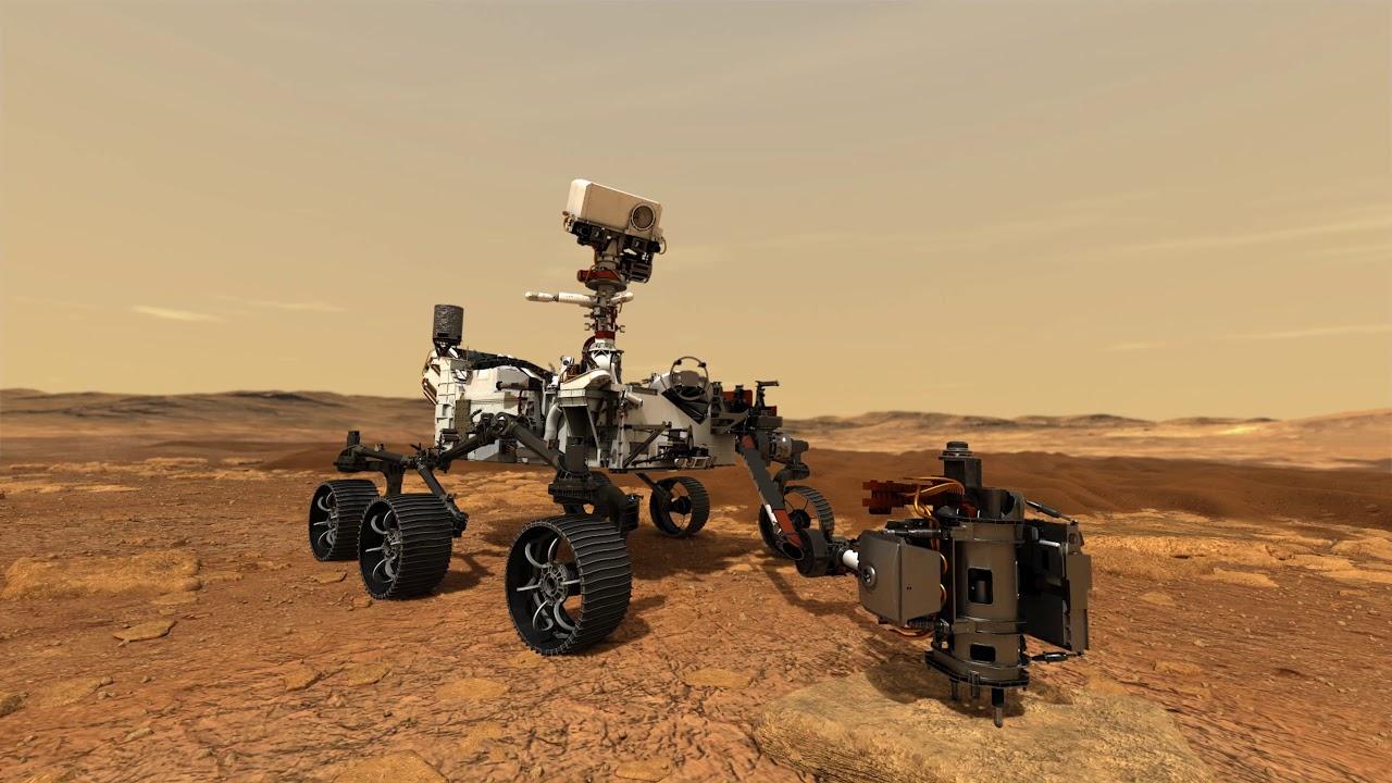 Марсианская одиссея 2020