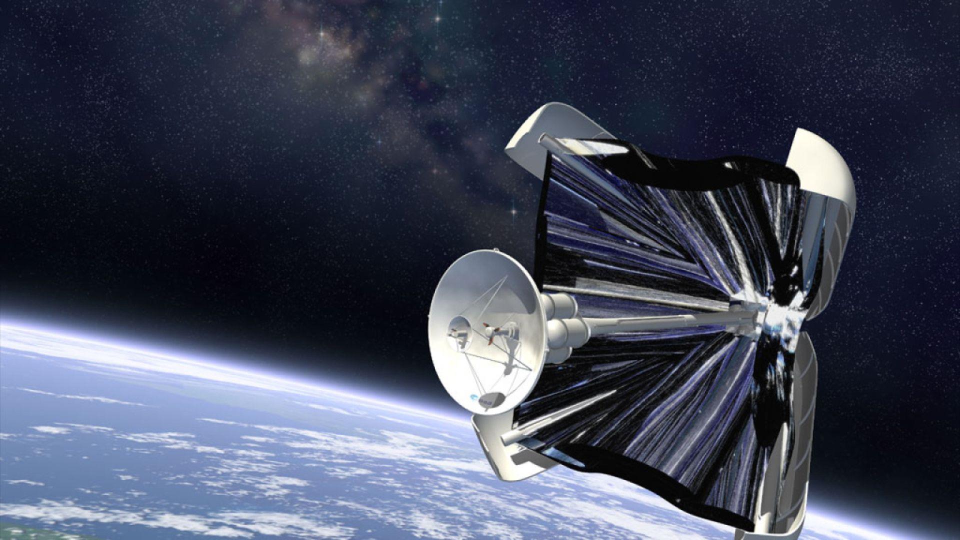 Космическое путешествие под солнечным парусом