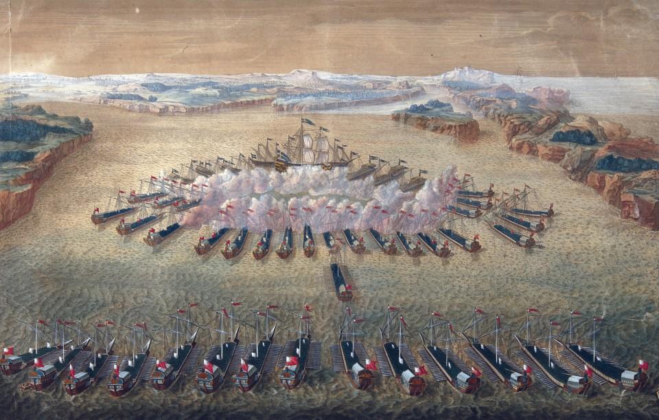 Битва при Гангуте - первая победа русского флота