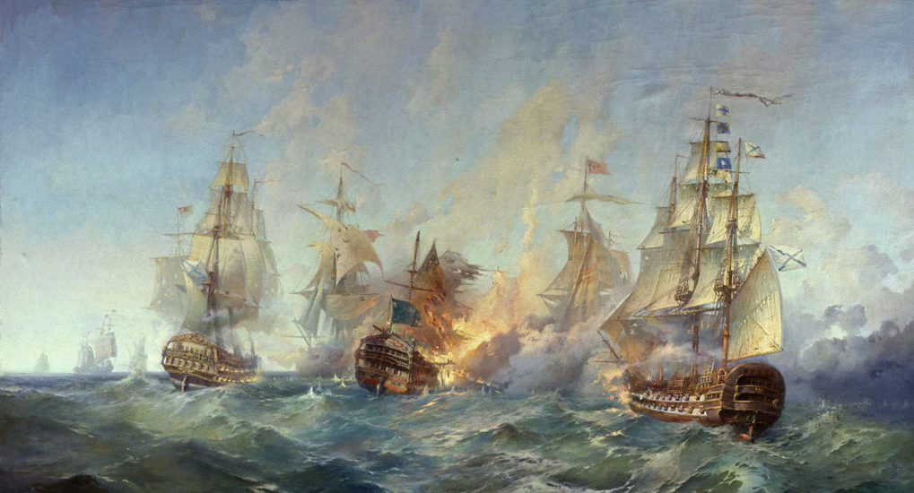 В 1790 году у мыса Тендра была разгромлена эскадра Османской империи. Победа, поразившая всю Европу