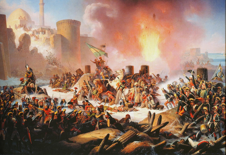 Измаил 1790 - штурм, который бывает только раз в жизни...