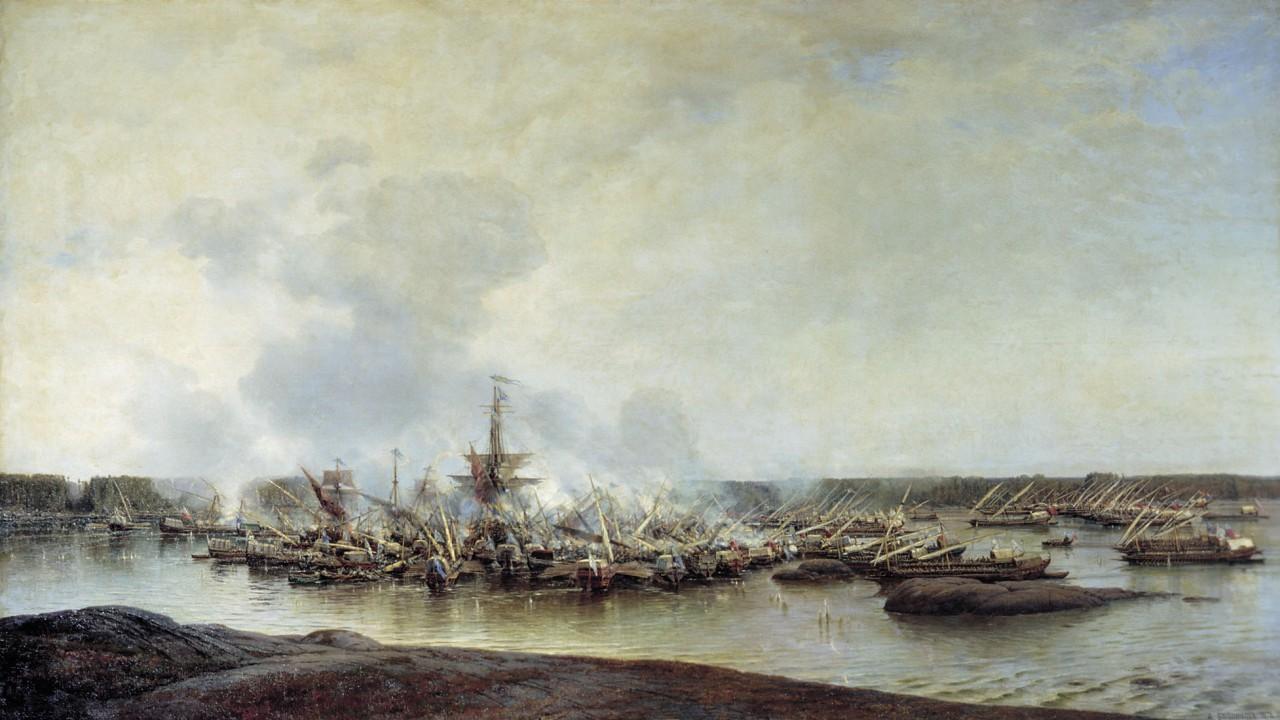 Битва при Гангуте - славное начало