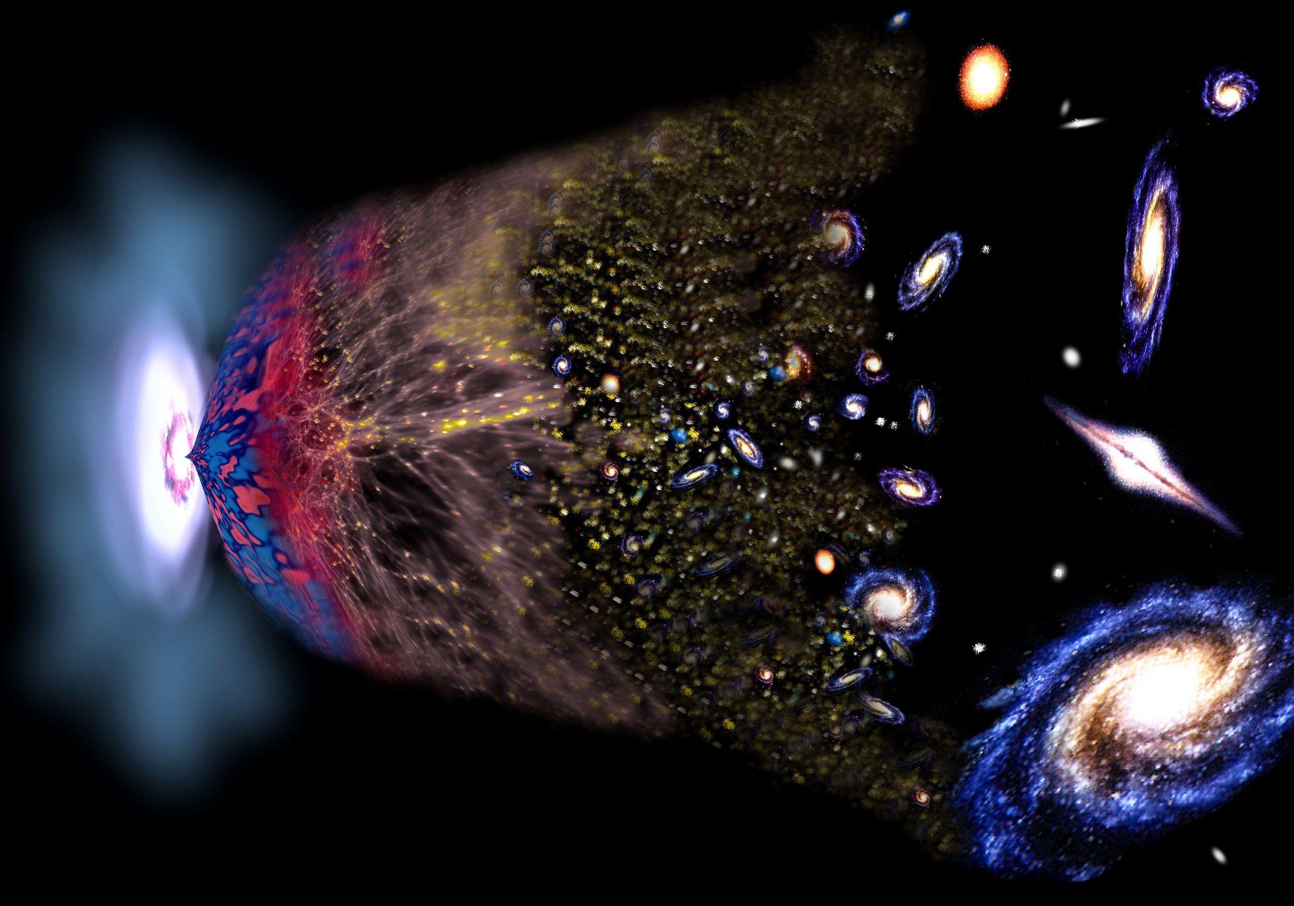 Космические связи: как сформировался космос, материя и жизнь