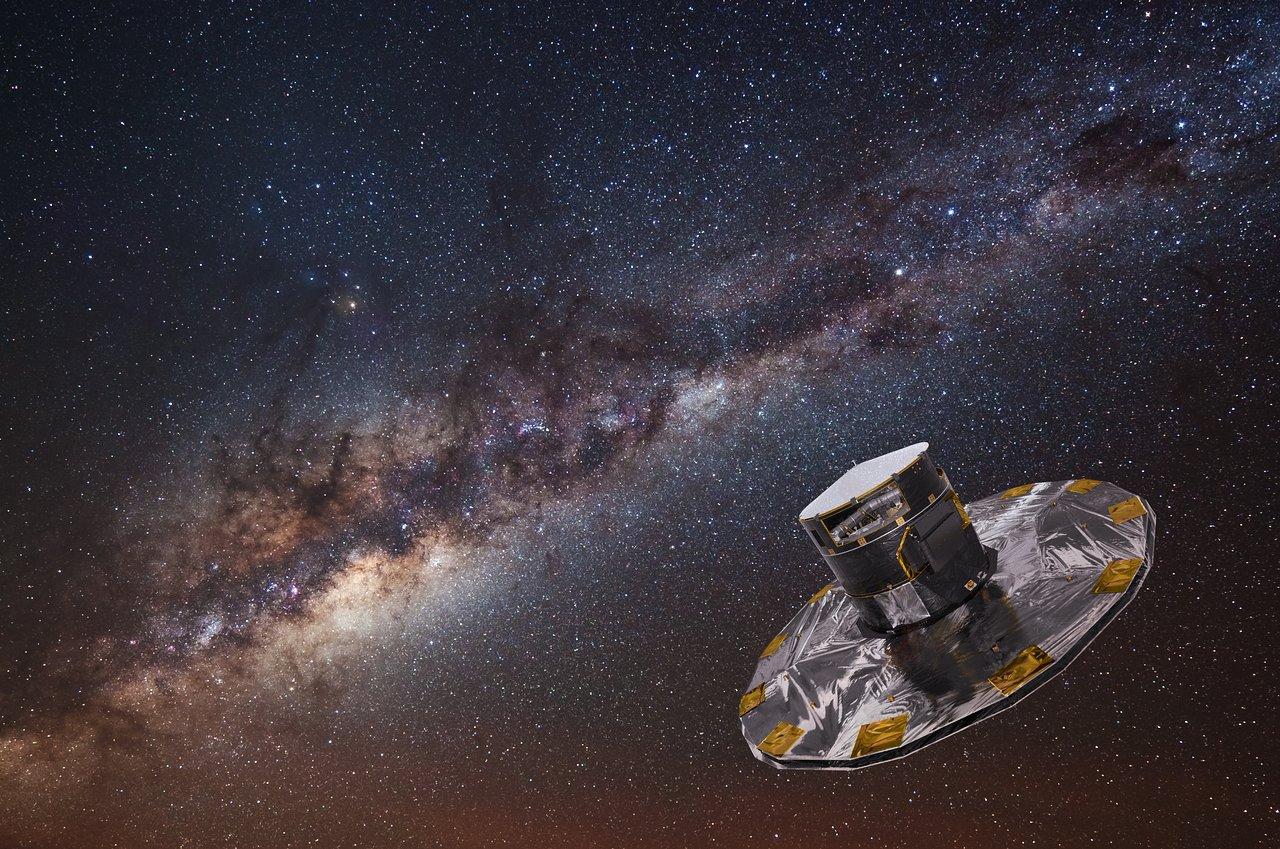 Космический аппарат Gaia - обозревая просторы галактики