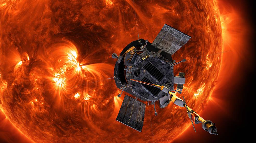 Разведчик Parker Solar Probe поможет изучить Солнце