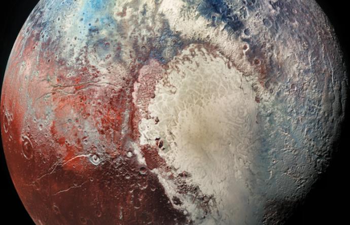 Тайны сердца Плутона
