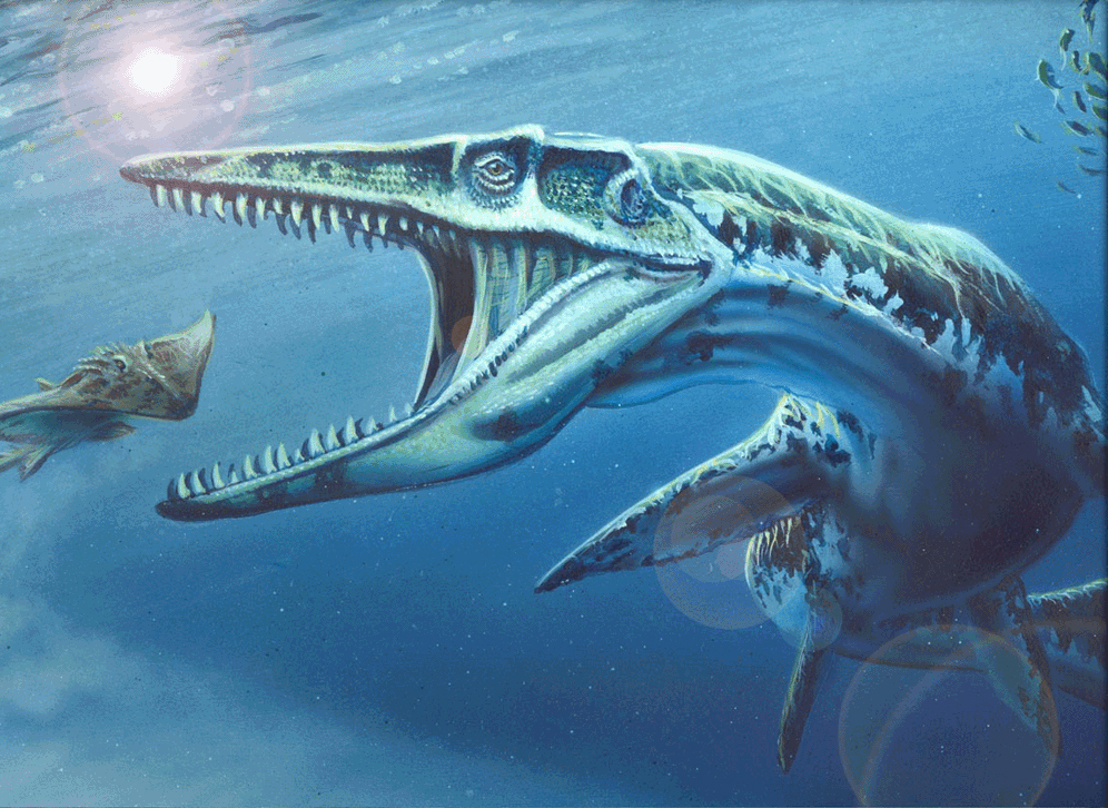 Плезиозавр озера Ван