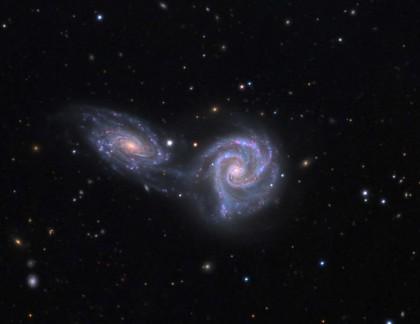 Спиральнаягалактика NGC 6872