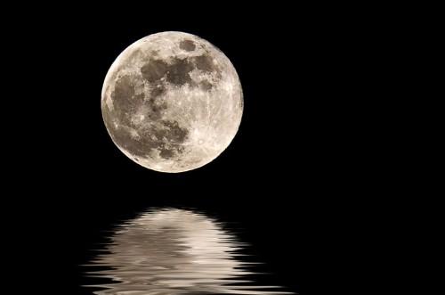 Приливные силы Луны