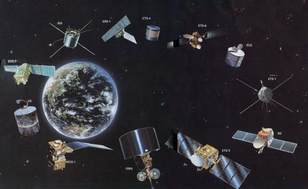 Наблюдение за спутниками