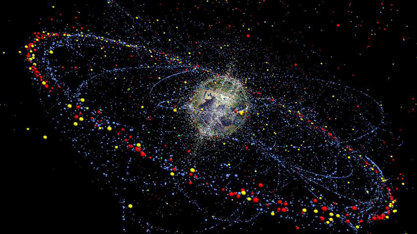 План по очистке неба от космического мусора