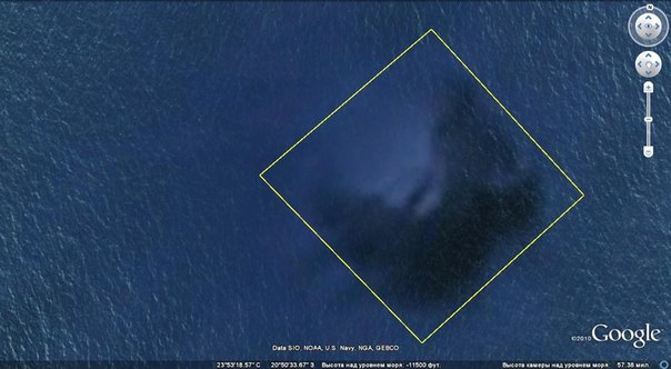 Аномалия на дне Тихого океана