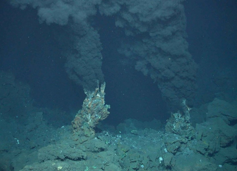 Вулканы в Мировом океане