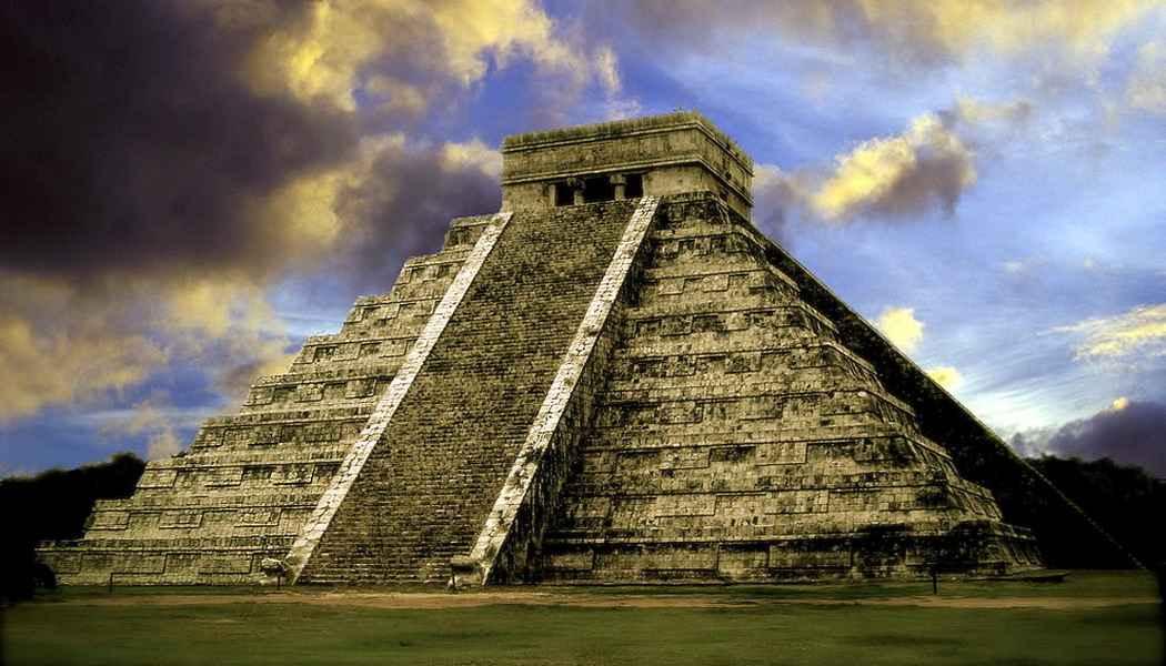 Найдена неизвестная пирамида майя в Мексике