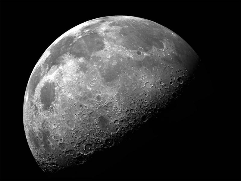 Спутница нашей планеты — Луна