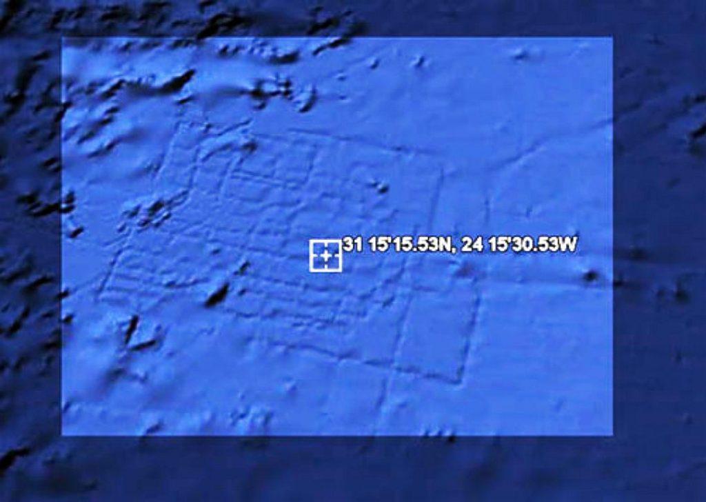 Атлантиду заметили из Космоса?