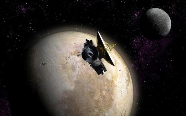 """Космический аппарат """"Новые горизонты"""": миссия на Плутон"""