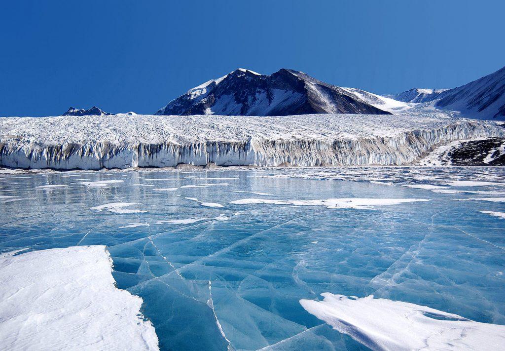 Из чего состоит Антарктика