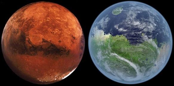 Земляне - бывшие Марсиане?