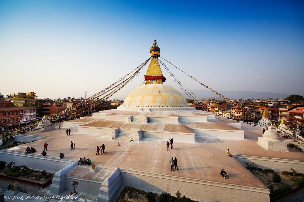Буддийская ступа Бодхисаттвы