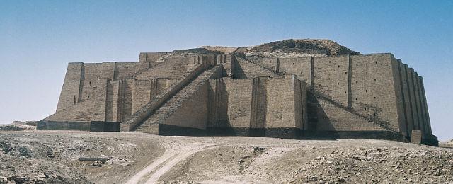 Древний город Ур в Ираке