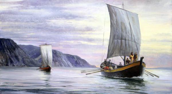 Семен Дежнёв - Плавание проливом, который так долго искали
