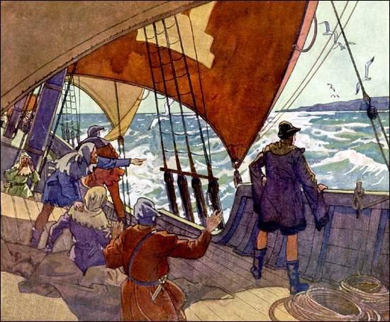 Джон Кабот - Первые плавания англичан через Атлантику