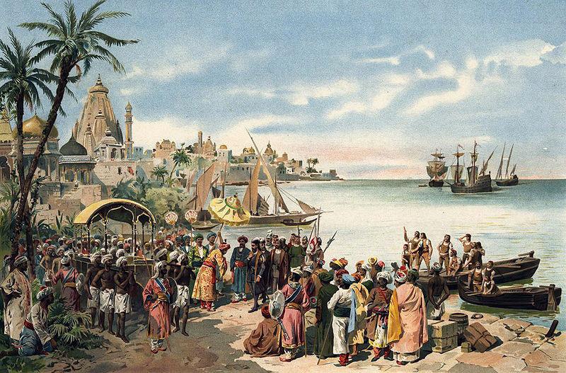 Васко да Гама - Первое плавание из Европы в Индию