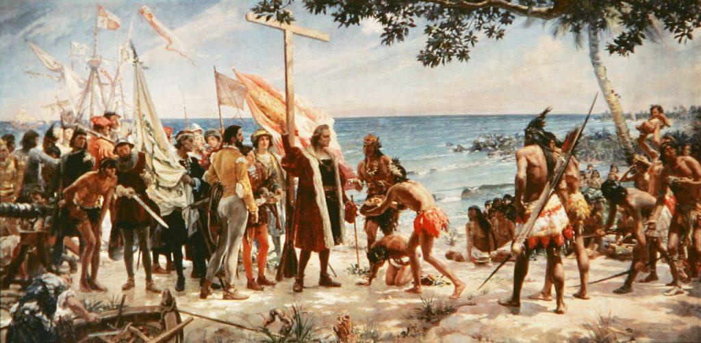 Христофор Колумб - Первое путешествие в Вест-Индию