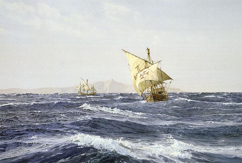 Бартоломеу Диаш и другие капитаны Энрике Мореплавателя