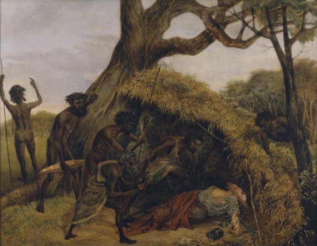 Роберт Бёрк — Первое пересечение Австралии