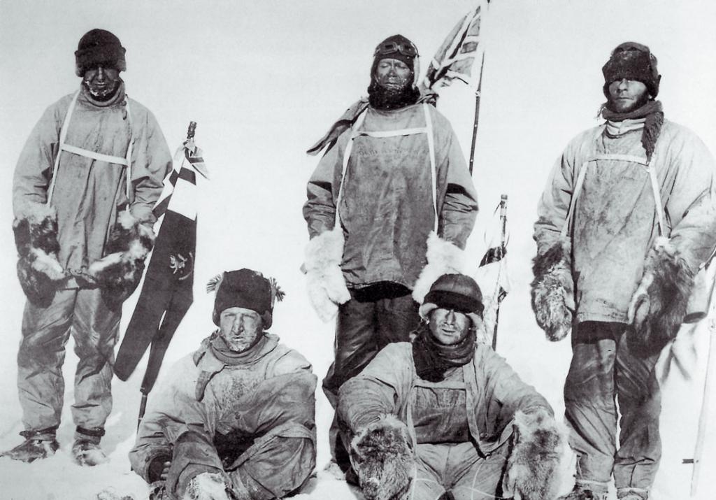 Амундсен и Скотт - экспедиция к Южному полюсу