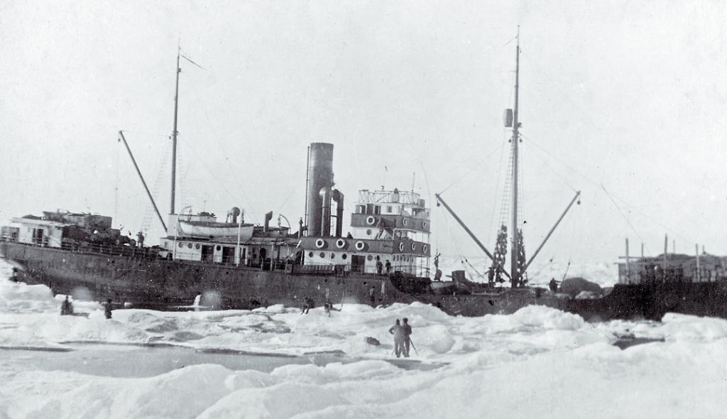 Отто Шмидт - экспедиция Северным морским путем