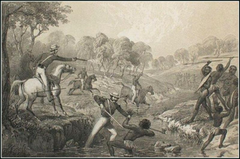 Как колонисты истребляли аборигенов