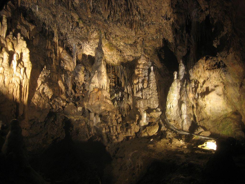 Сокровища в недрах пещер