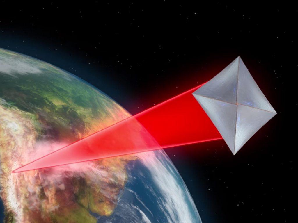 Полет к альфе Центавра с помощью лазера