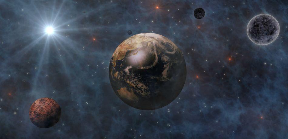 Астрономы обнаружили миниатюрный аналог Солнечной системы
